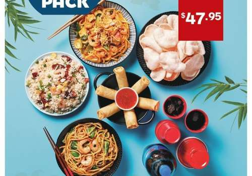 Grab a Panda Pack for the whole family at Noodle Box