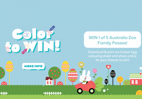 Easter Competition – WIN 1 of 5 Family Zoo Passes